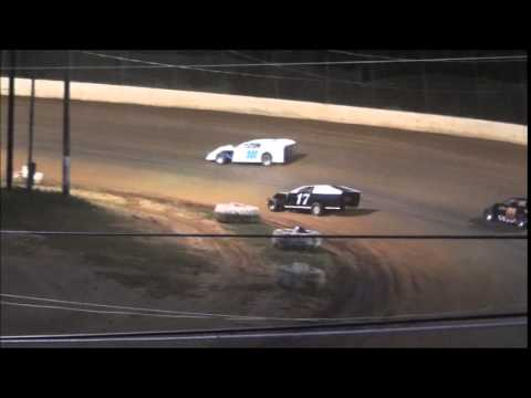 Modified Heat #3 from Ponderosa Speedway 6/13/14.
