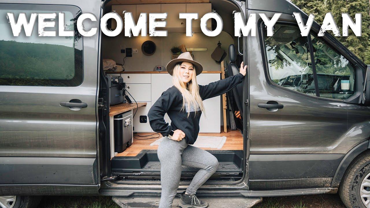 4WD overlander goes VAN LIFE?! Solo Female Van Life