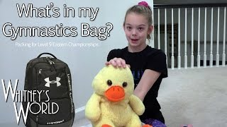 What's in My Gym Bag | 2017 Eastern Championships