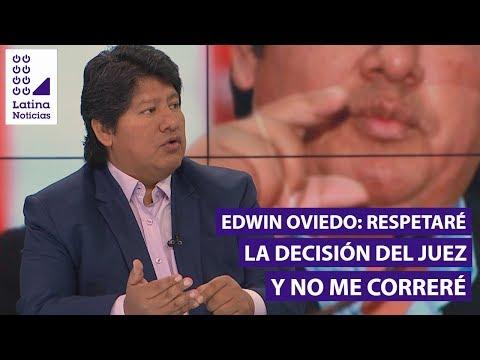 """Edwin Oviedo: """"Soy una persona de fe, creyente en Dios. No me voy a correr""""   90 Matinal"""