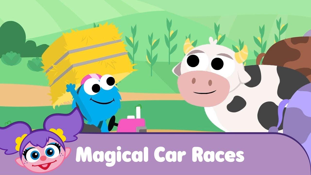 Magical Car Races | Counts Castle | Cave | Beach