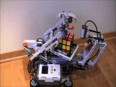 Lego Mindstorms nxt Rubik's cube solver mindcuber +building instruction HD