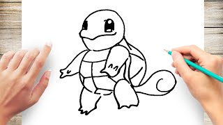 How to Draw Squirtle Step by Step