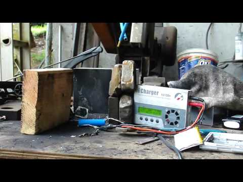 Ultimate lithium battery destructive tests highlights. :)  LiPo, LiPoly, LiFePO4, LiCoO2 etc