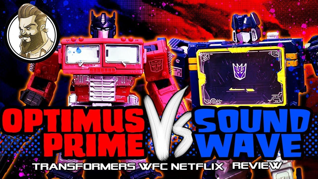 Netflix WFC - Optimus V Soundwave - Shut up and Take my Money! by HamMan