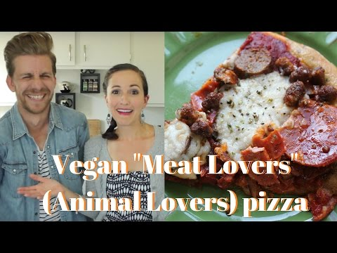 Vegan Meat Lovers (Animal Lovers) Pizza
