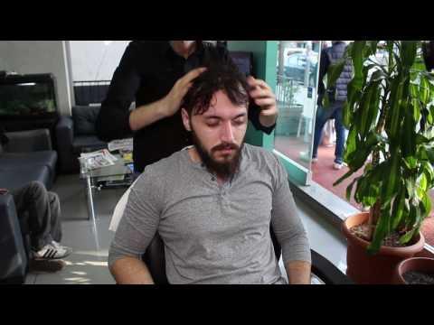 ASMR Turkish Barber Face Head and Back Massage 24