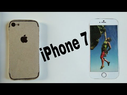 How to make a Apple Iphone out of cardboard | DIY CARDBOARD IPHONE 7| HOW TO MAKE | Bi