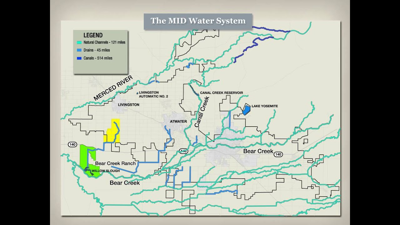 Legal Graphics Illustrative Map Merced Irrigation District YouTube