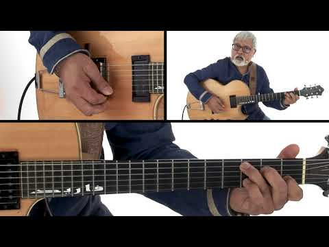 Solo Guitar Handbook - Any Minor or Dom Can Be a ii V - Fareed Haque
