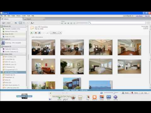 Picasa 3.5 Instructional Video - Part 1: Organizing