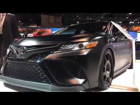 2018 Toyota Camry Custom With Matte Paint Job Trd Edition