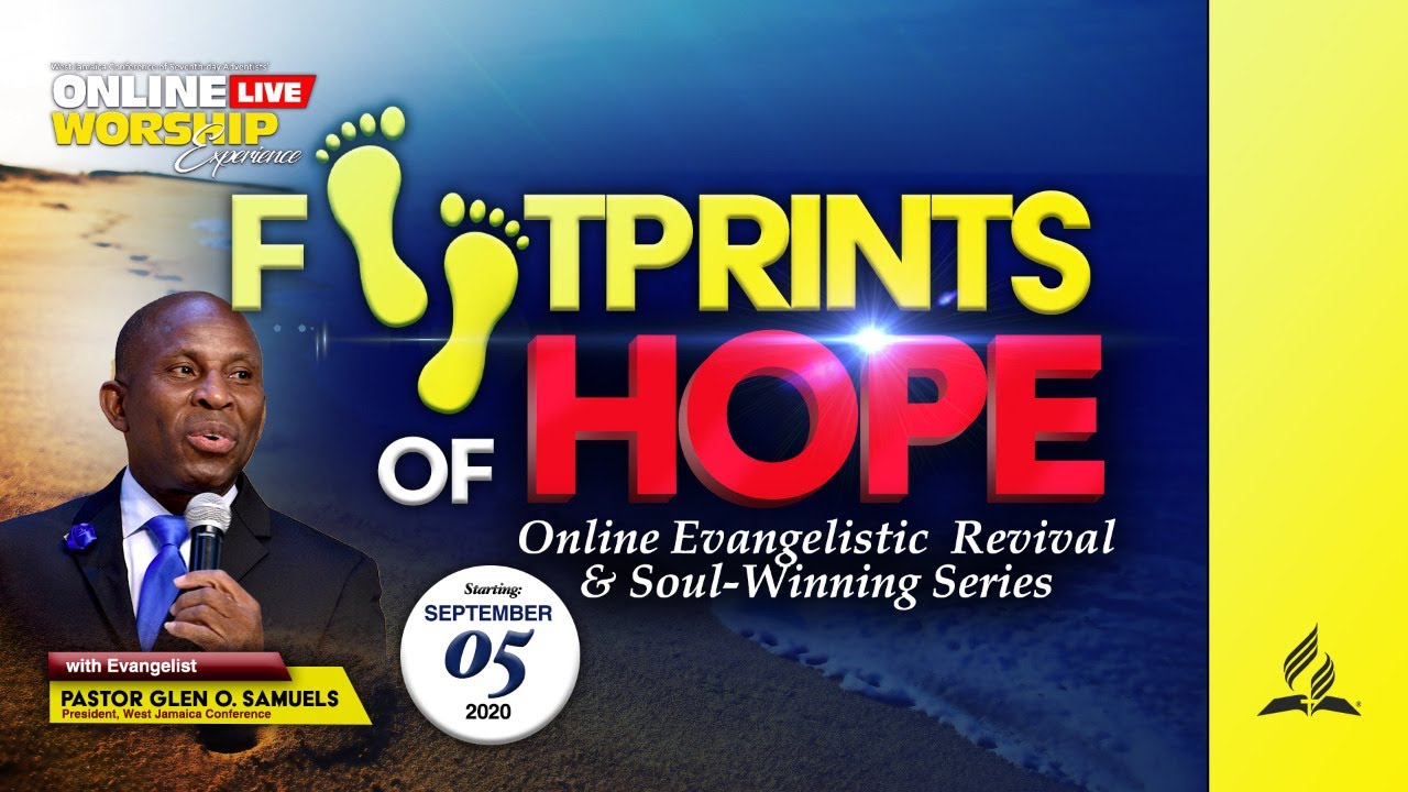 Footprints of Hope Revival & Soul Winning Series || Online Worship Exp. || Wednesday Sept 16,  2020