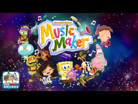 Music Maker - Jam Out With Your Favorite Characters (Nickelodeon Games)