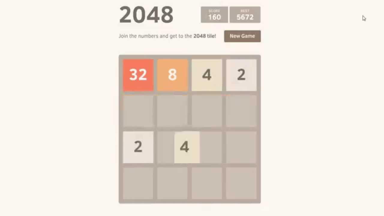 2048 Spiel Tipps