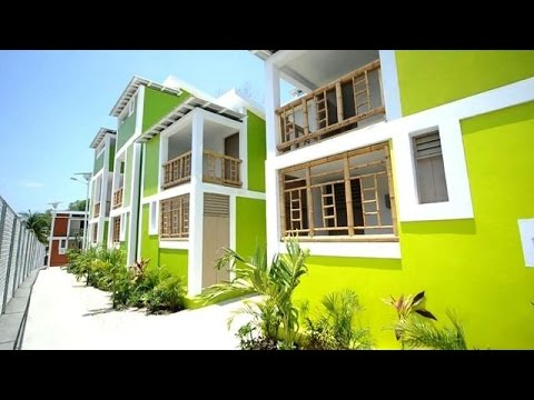 Houses rebuilt for Haitian families affected by the earthquake