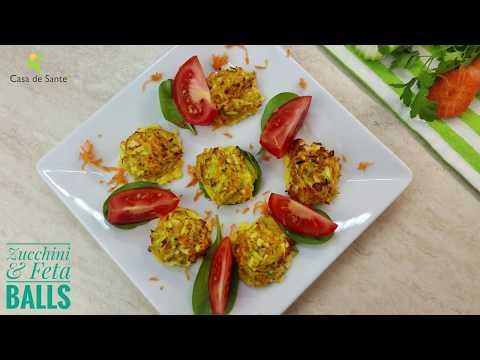 Low FODMAP Vegetarian Zucchini & Feta Balls