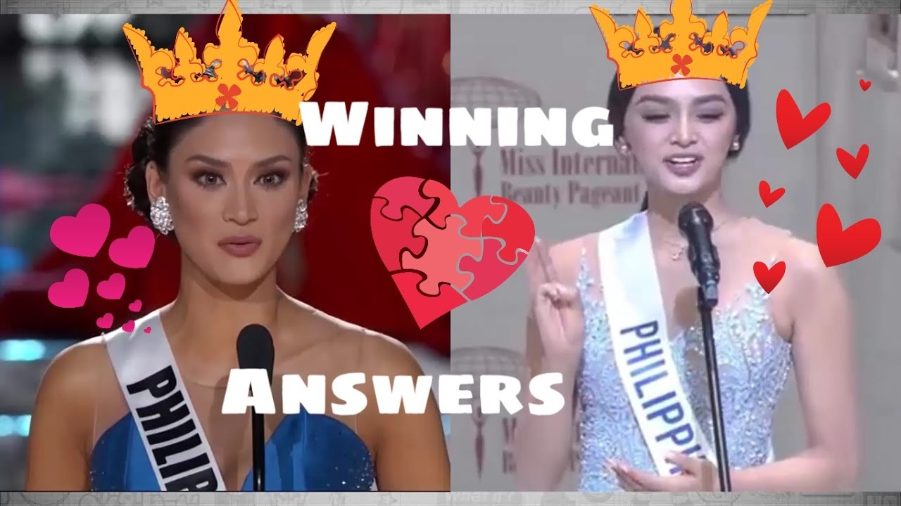 Miss International 2016 Question and Answer   Miss Universe 2015     Miss International 2016 Question and Answer   Miss Universe 2015 Winning  Answer