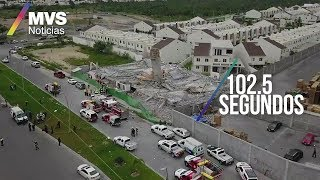 Derrumbe de construcción en Monterrey deja 7 muertos; se han rescatado a 13