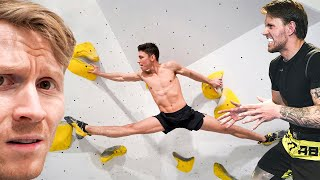 MMA fighter & Gymnast try Climbing