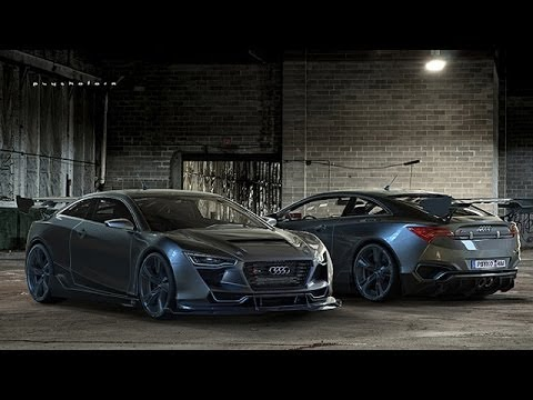Audi R4 Concept By. Rene Garcia - YouTube