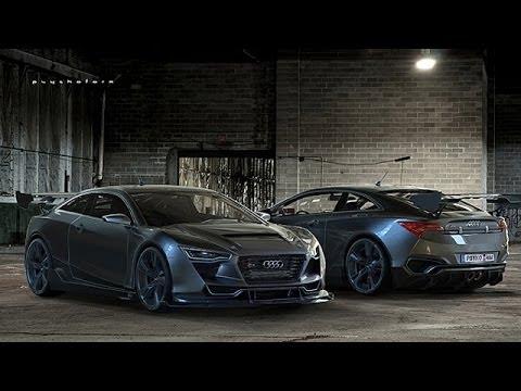 Audi R Concept By Rene Garcia YouTube - Audi r4