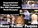 "Manny ""PacMan"" Pacquiao WBC Lightweight Champion Tribute"