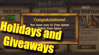 Holidays and Giveaways - Dead or Alive 2 Bonus - Online Slots - Genesis Casino - The Reel Story