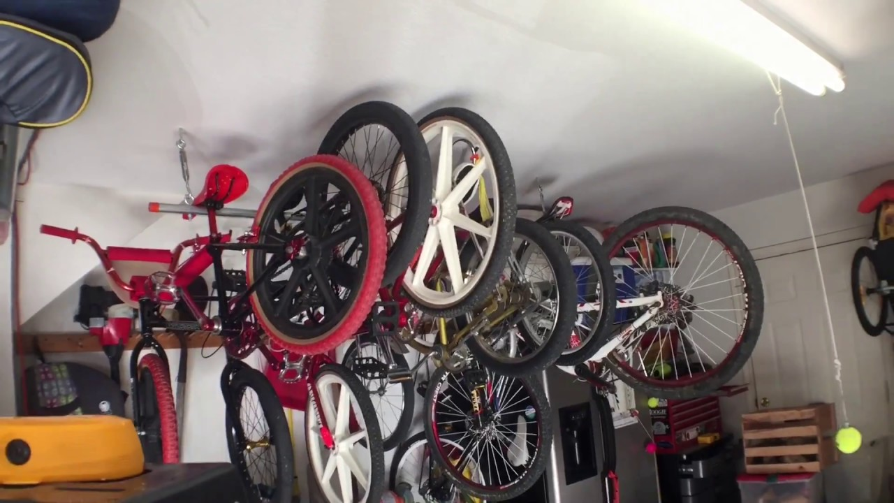 Diy Bicycle Rack Hang Bikes From Ceiling