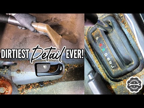 Complete Disaster Full Interior Car Detailing Transformation