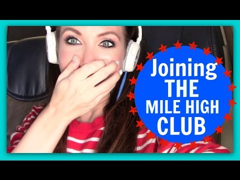PEOPLE JOINING THE MILE HIGH CLUB ON MY FLIGHT