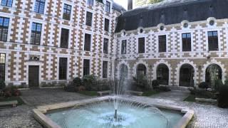 VIlle de Vendôme filmée en drone