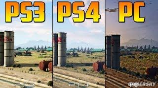 ¡¡INCREÍBLE!! Comparación GTA 5 PC, PS4 y PS3 - Gameplay GTA 5 Online PS4