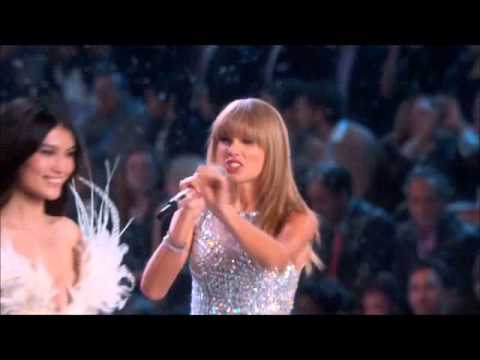 Taylor Swift - I Knew you Were Trouble  The Victorias Secret Fashion Show 2013 HD
