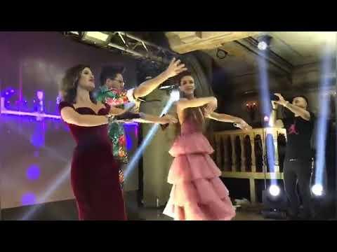 Бузова и Бородина исполнили национальный армянский танец в Ереване