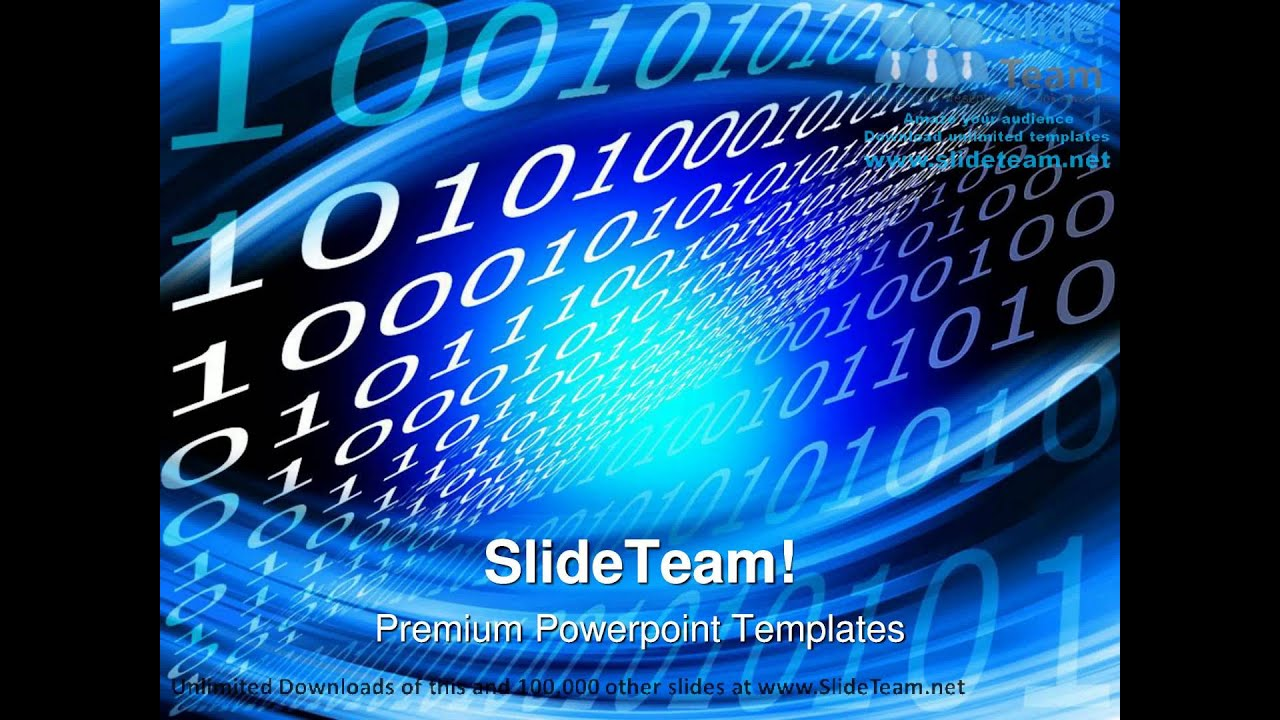 Binary Board Metaphor PowerPoint Templates Themes And Backgrounds ...