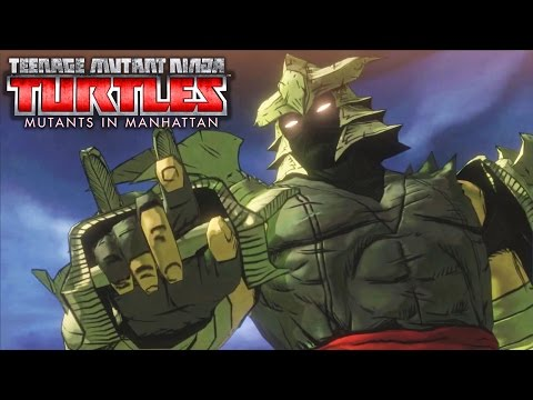 TMNT Mutants in Manhattan All Boss Fights
