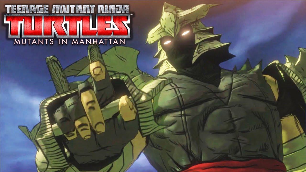 TMNT Mutants in Manhattan All Boss Fights