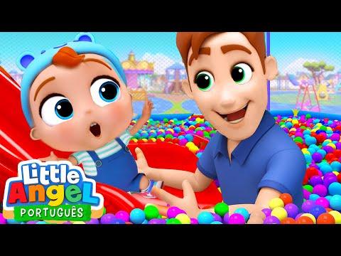 Um Dia no Parquinho!   Vídeo Infantil   Little Angel Português