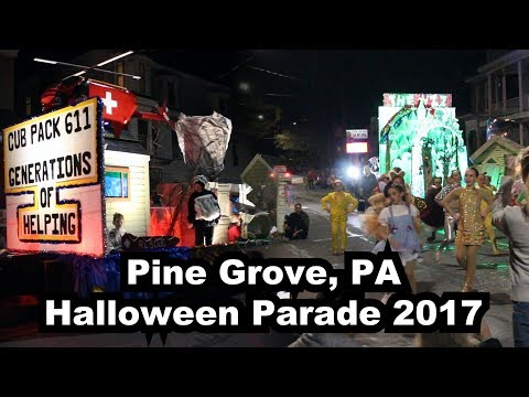 2020 Halloween Parade Pine Grove Pa LIVE: Pine Grove, PA Halloween Parade 2017   Presented by MHP
