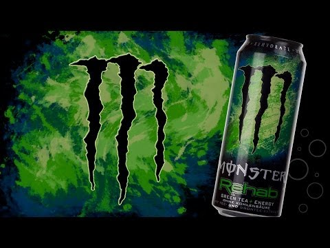 Wir Probieren #123 Monster Rehab Green Tea
