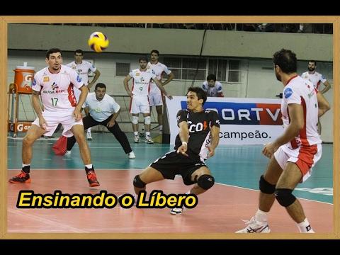 El es libero quien voleibol