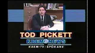 1984 KREM-TV Tod Pickett Sports Tease
