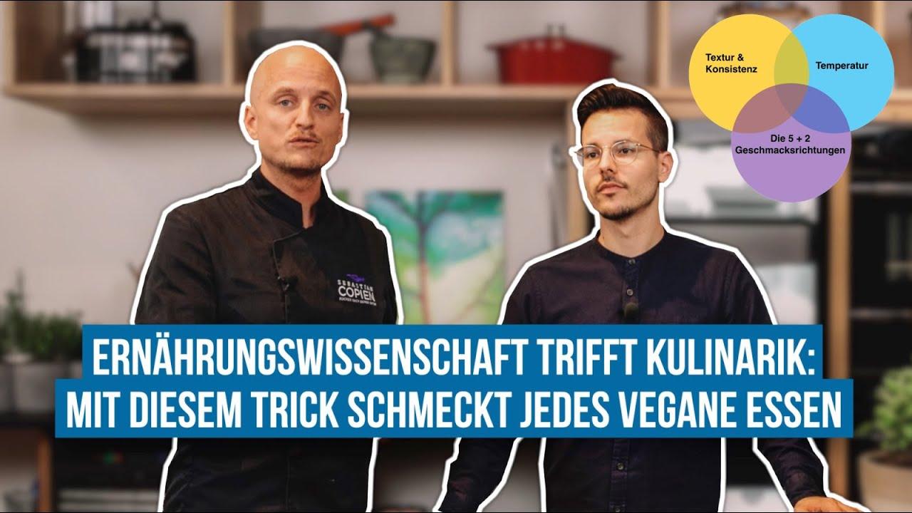 Diese Tipps von Kochprofi Sebastian Copien machen jedes vegane Essen leckerer!