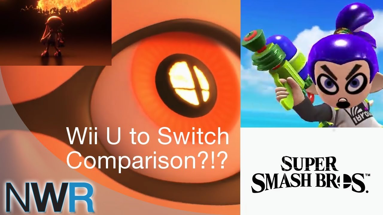 Super Smash Bros  Switch and Wii U Comparison   YouTube Super Smash Bros  Switch and Wii U Comparison