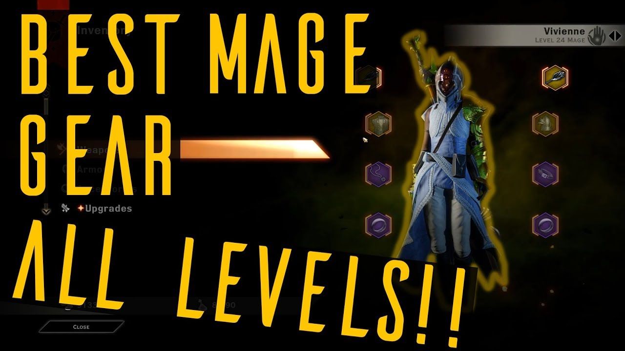 Best Mage Gear All Levels Dragon Age Inquisition Youtube