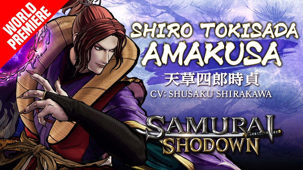 SHIRO TOKISADA AMAKUSA|SAMURAI SHODOWN –DLC Character (Asia)