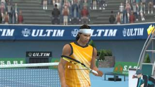 Smash Court Tennis 3 PSP 1080p 60fps Gameplay Test