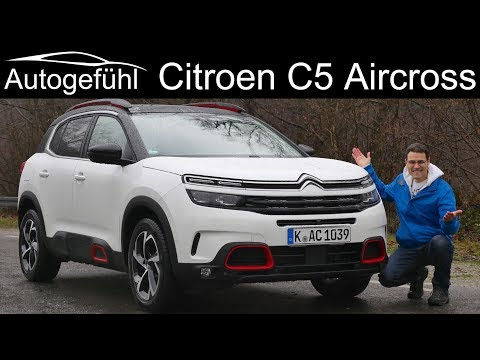 All-new Citroen C5 Aircross SUV FULL REVIEW - Autogefühl