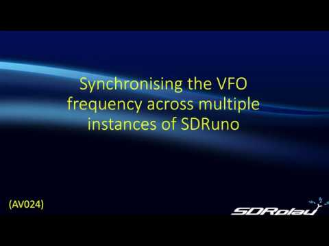 Synchronising VFO Frequency for Multiple tuners